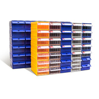 High Quality Compartment Stackable plastic organizer cabinet drawer box