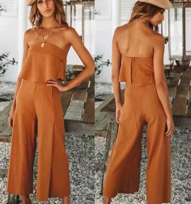 2019 neue damen sexy liebsten tube top overall
