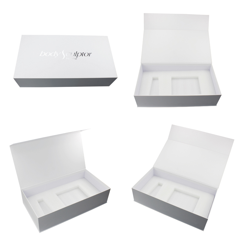 China Factory Price Custom Private Label Packing Printed Premium Skin Care Packaging Recycled Flip Top Magnetic Cosmetic Box