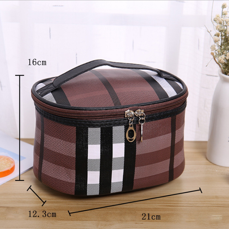 Multifunctional portable make up case travel cosmetic storage bag
