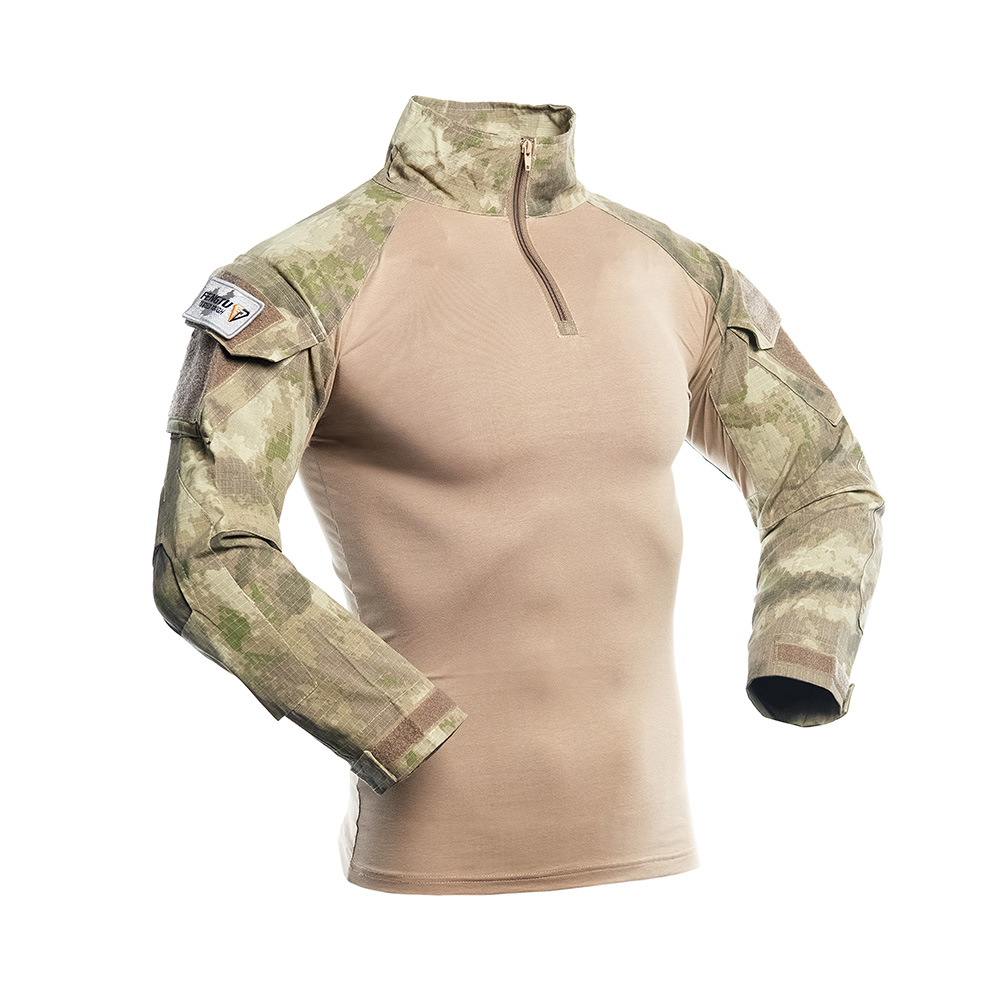 Hiking Trekking Outdoor Tactical Hunting Camouflage Combat Shirt Military Assault Shirt