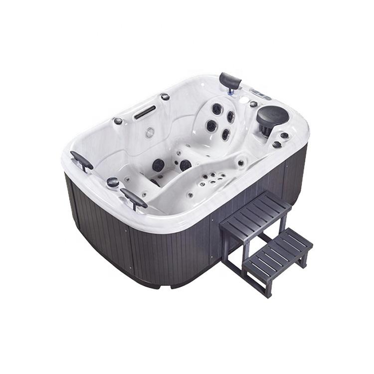 Produttore JY8805 di Lusso Acrilico 3 Persona Balboa Idro Esterna Mini Spa Vasca Idromassaggio Per La Vendita