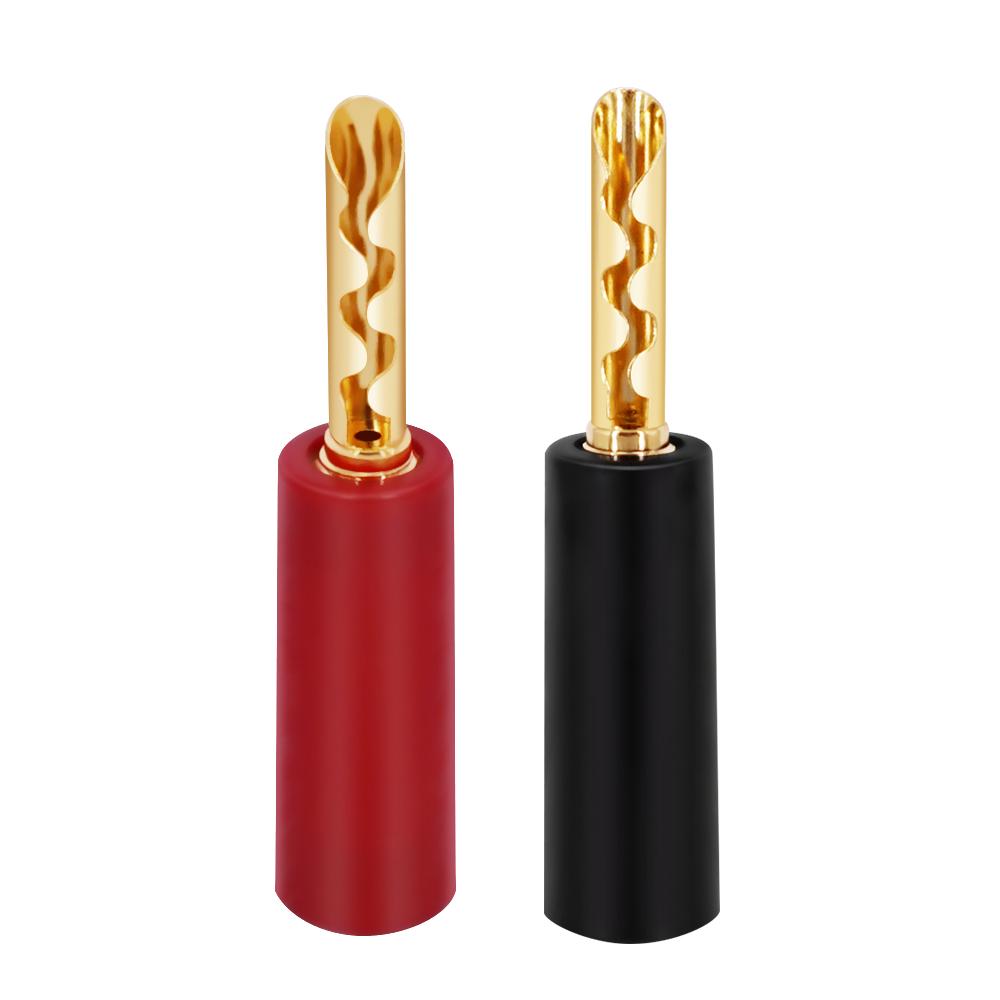 HIFI Speaker toothed plug 4mm male banana plug