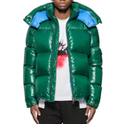 Fashion custom mens winter green bubble coat puffer jackets