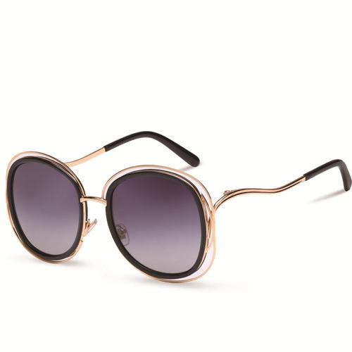 2020 New Design Sunglasses Female Personality Polarized Sunshade Mirror Woman Sunglasses