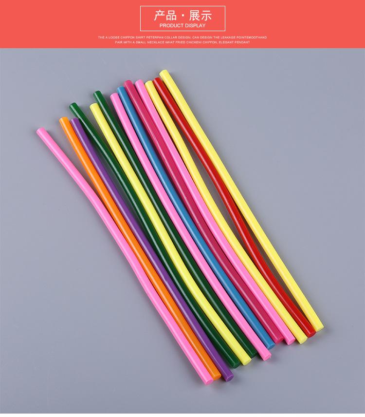 กาว Hot Melt Stick เครื่องโปร่งใสกาวติดกาวร้อน Hot Melt กาว sticks สีน้ำตาล