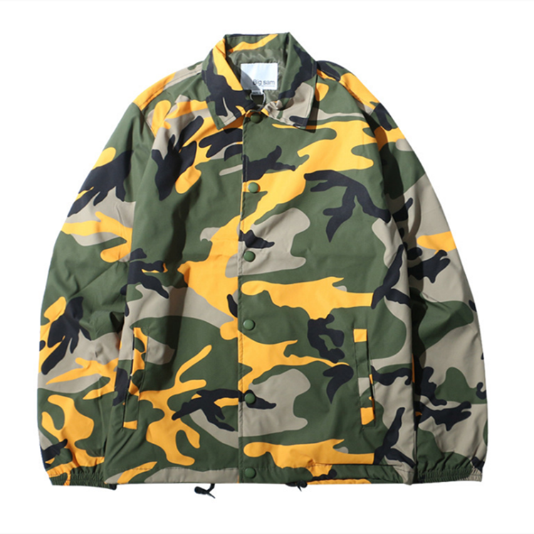 new <strong>style</strong> loose <strong>Military</strong> custom camouflage <strong>jacket</strong> for men