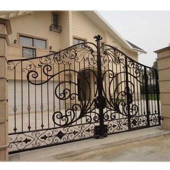 Modern House Wrought Iron Main Gates Designs Simple Gate Electric Sliding Driveway Beautiful Residential wrought iron gates