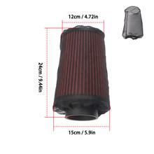Фильтр для холодного воздухоотвода двигателя автомобиля, коническая крышка, водоотталкивающая защита, сетка, черные детали, фильтр, сетчат...(Китай)