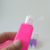 Mini travel  portable 30ml 50ml 100ml Clear PET plastic hand sanitizer bottle  with flip cap