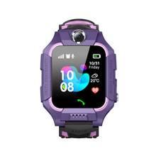 Смарт часы IP67 глубокий водонепроницаемый 2G gps трекер SOS Вызов локализация напоминание для детей(Китай)