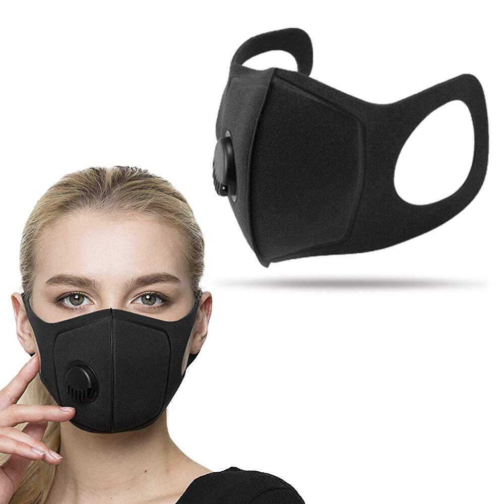 BONNO Filtration Dust Mask For Smoke Black face mask - KingCare   KingCare.net