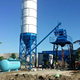 HZS25 batching plant concrete
