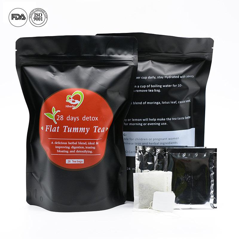Hot Summer Private Label 28 Days Cleanse Detox Tea Weight LossTea Boost Metabolism Reduce Bloating Slim Tea - 4uTea | 4uTea.com