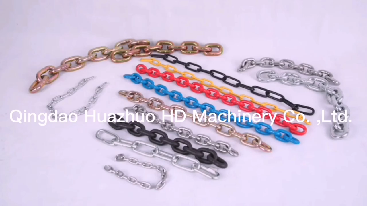 China manufacturer colored safety 3mm 6mm 8mm traffic barrier plastic Chain