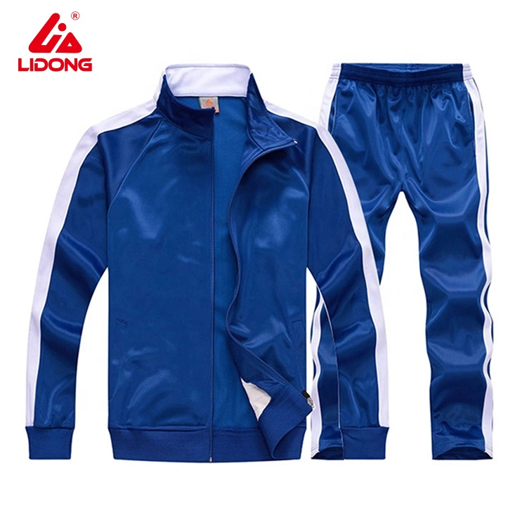 Custom Track Suits Tracksuit For Men /Mens Polyester Sportswear Track Suit