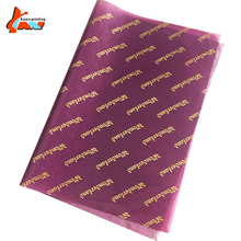Customer logo personalized printed wrapping paper 17g 22g tissue paper