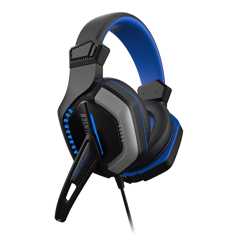 Latest Patent USB Gaming Headphone 7 Color Flashing Light LED Top Quality Headset Gamer For Computer Gaming Headset With Mic