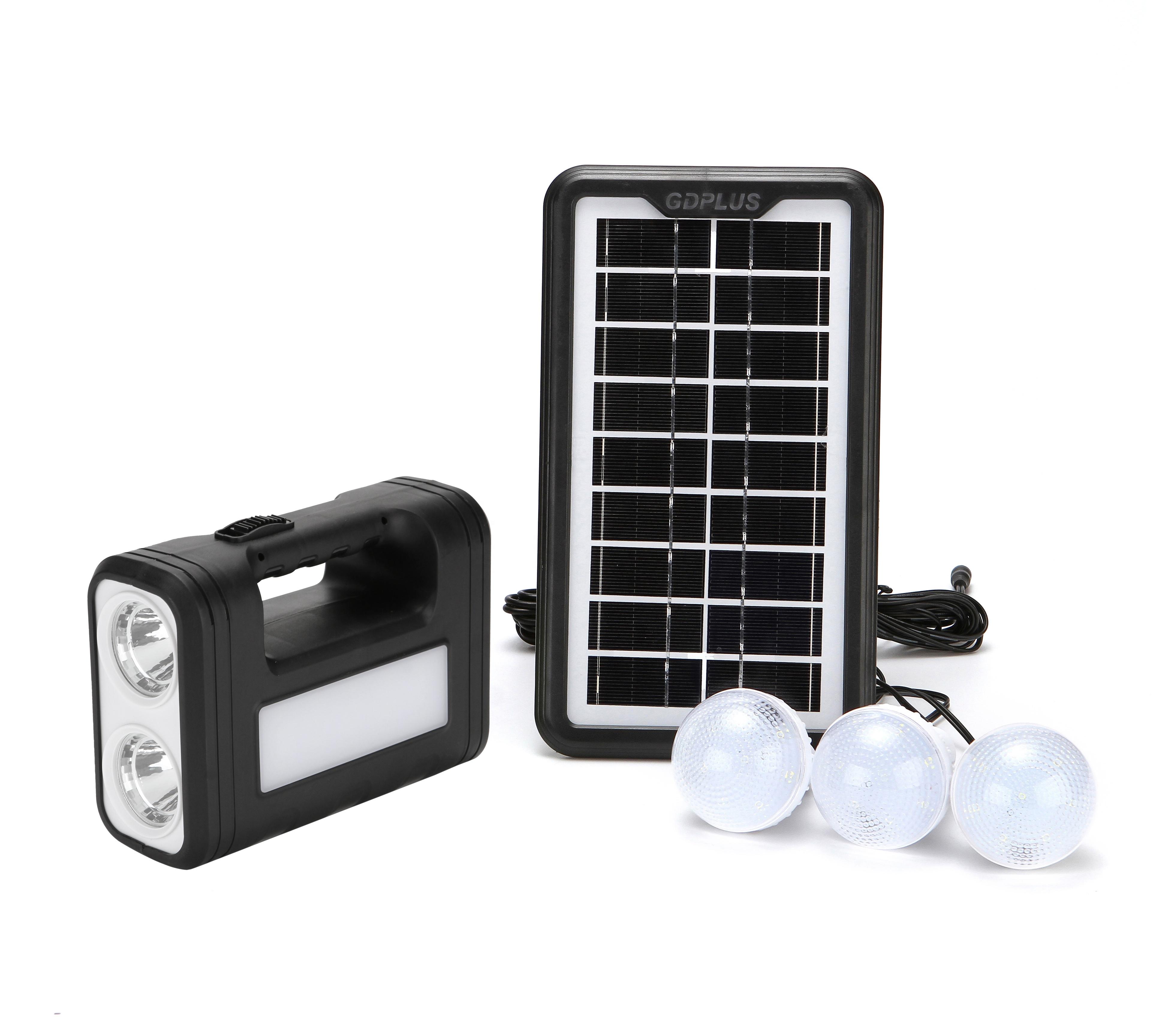 2019 NEW production gdlite gd 8017 solar lighting system