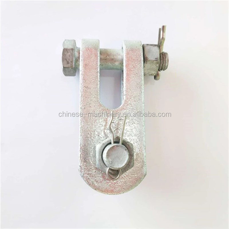 High Quality Hot Dip-Galvanized Electric Power Clevis & Tongue (Link Fitting)