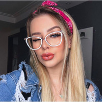 famous blue light glasses clear lens glasses optical lens sunglasses eye wear frame