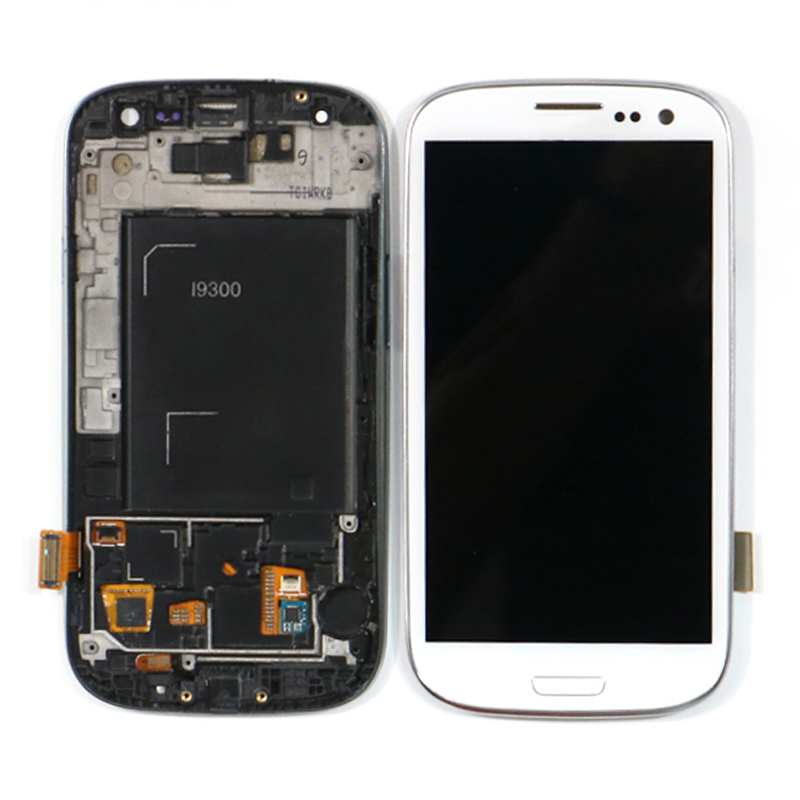Original For Samsung Galaxy <strong>S3</strong> I9300 LCD Digitizer <strong>Screen</strong> For samsung <strong>S3</strong> <strong>Mini</strong> S21 S32 LCD