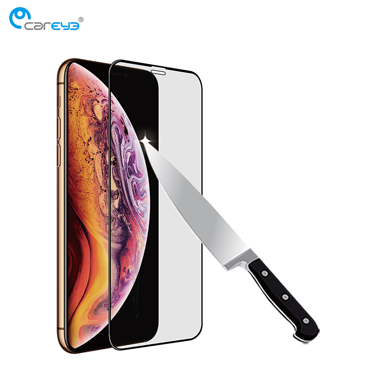 Amazon top seller 3D resin edge screen protector for Iphone XR