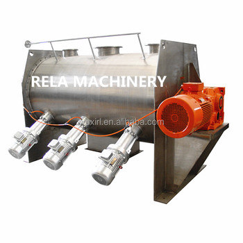 Industrial food powder plough shear mixer price Chemical machinery equipment for food mixing