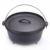 camping convenient cast iron dutch oven with stainless steel handle