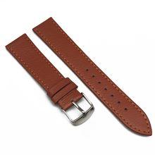 Кожаный ремешок для часов с узором Личи для мужчин и женщин из натуральной кожи 14 мм 16 мм 18 мм 20 мм 22 мм ремешок для часов Saat Kordonu(China)