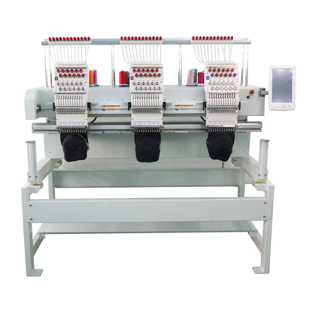 1-4head single head flat garment pillow towel bag t-shirt cap computer embroidery machine Computerized monogram machine