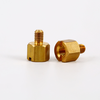 custom anodized hexagon aluminum standoff/stainless steel or brass PCB standoff spacer