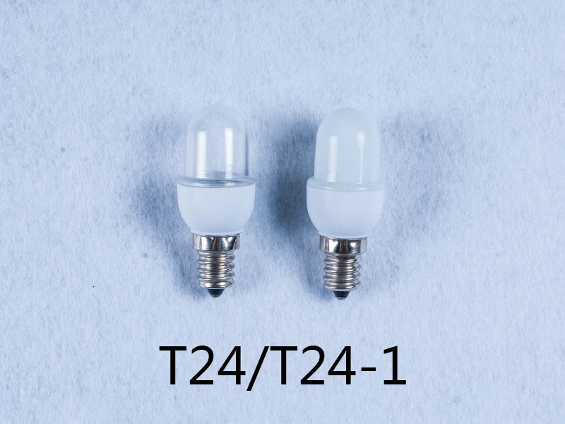 T22/F22/T24 110V 240V 1w E12 E14 led light bulb for candle light and night light wall lamp