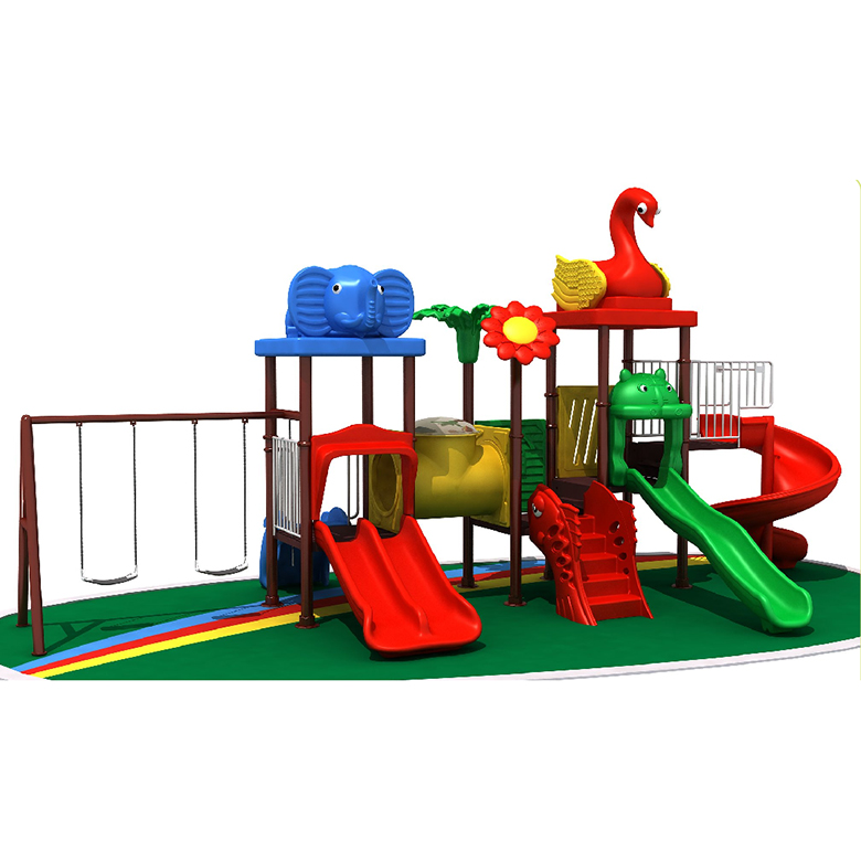 Popular Children play game equipment outdoor slide with swing kids outdoor playground sports equipment <strong>for</strong> <strong>sale</strong>