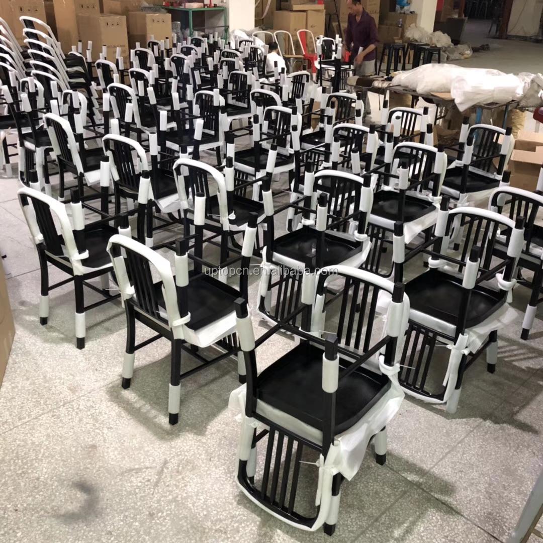 product-Uptop Furnishings-Sample design wood seat metal frame chair-img-5