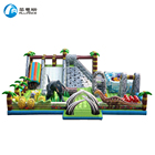 High Quality Inflatable Slide Commercial Inflatable Dinosaur Paradise Slide for Sale