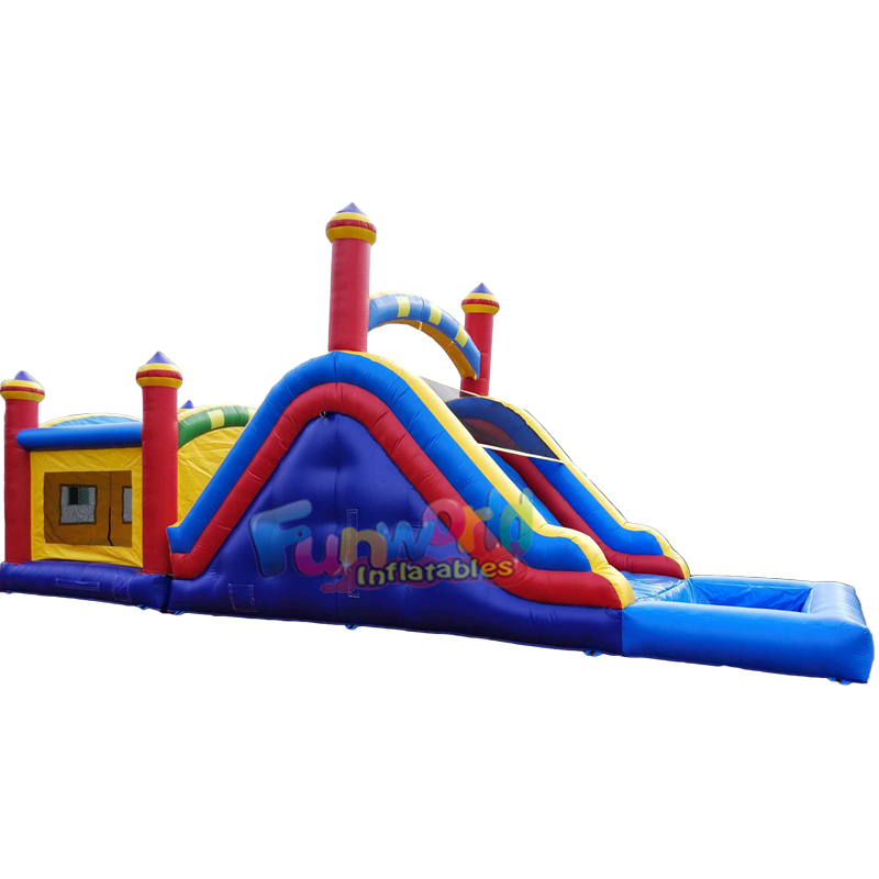 Inflatable water bounce house inflatable house slide pool on sale for adults