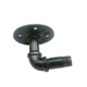 Black coat rack assembled pipe fitting 3 inch pipe flange 1/2-inch 90 elbow connector for decoration