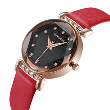 SYNOKE женские часы Cristal роскошные женские часы с браслетом женские кожаные montre femme petit cadran relojes mujer 2020(Китай)
