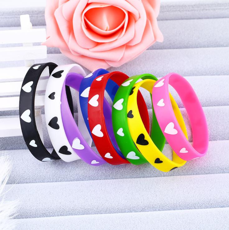 standard bulk cheap Professional Wristband Manufacturer Fashion silicone bracelet