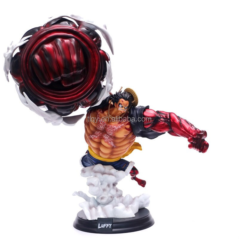 Anime One Piece Gear Fourth P O P Xxl Monkey D Luffy Pvc Action Figure Collection Models Toys Buy Anime One Piece Pvc Luffy Action Figure Model Toys