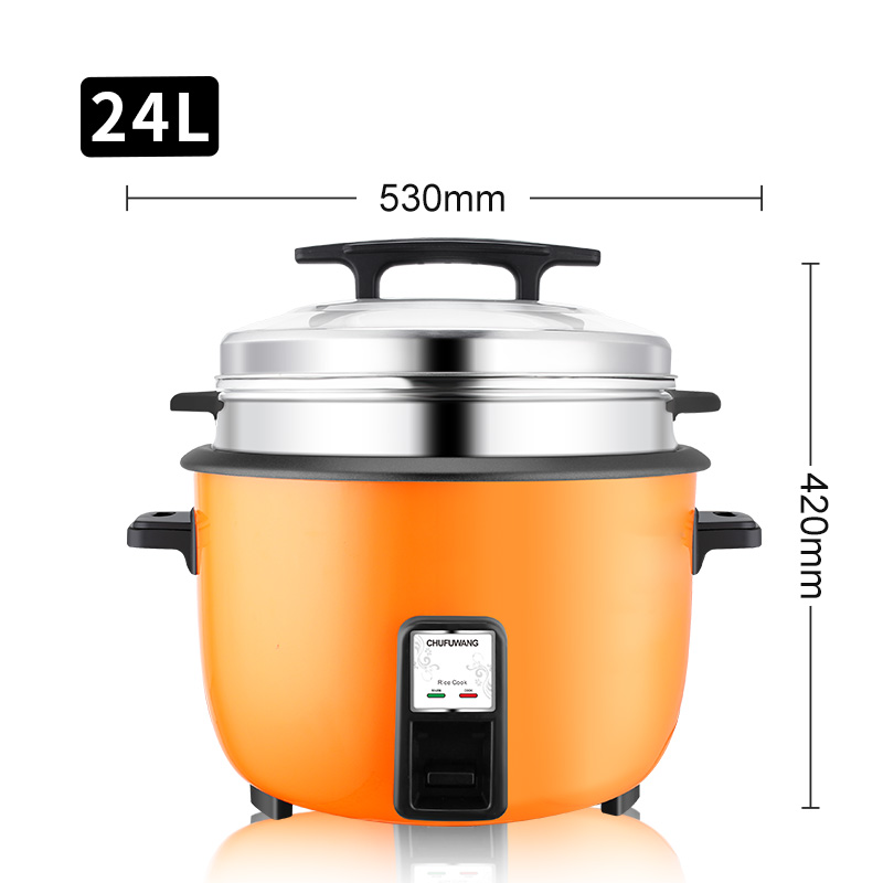 23L 10L 60cups Hot Sales 3000W <strong>Commercial</strong> Big Size <strong>Electric</strong> Drum Shape Rice <strong>Cooker</strong> with steamers