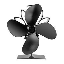Вентилятор для камина, деревянная горелка, мощный экологический вентилятор для камина, тепловой вентилятор, вентилятор для печи, работающи...(China)