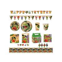 Disposable dinosaur party supplies set party favors and decoration paper plate and cup dinosaur theme dinnerware