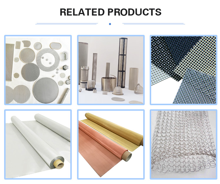 ss 316 wire mesh screen for security doors and windows