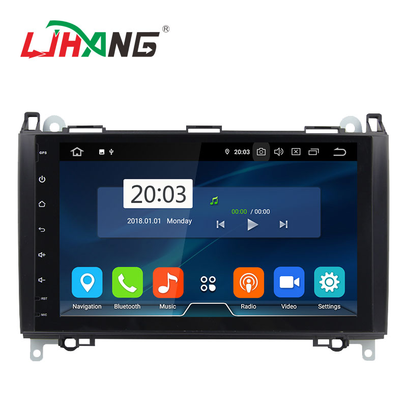 LJHANG android 9.0 4 + 64g octa core radio autos stereo gps dvd player car-multimedia-system für mercedes benz b200 mit rückansicht
