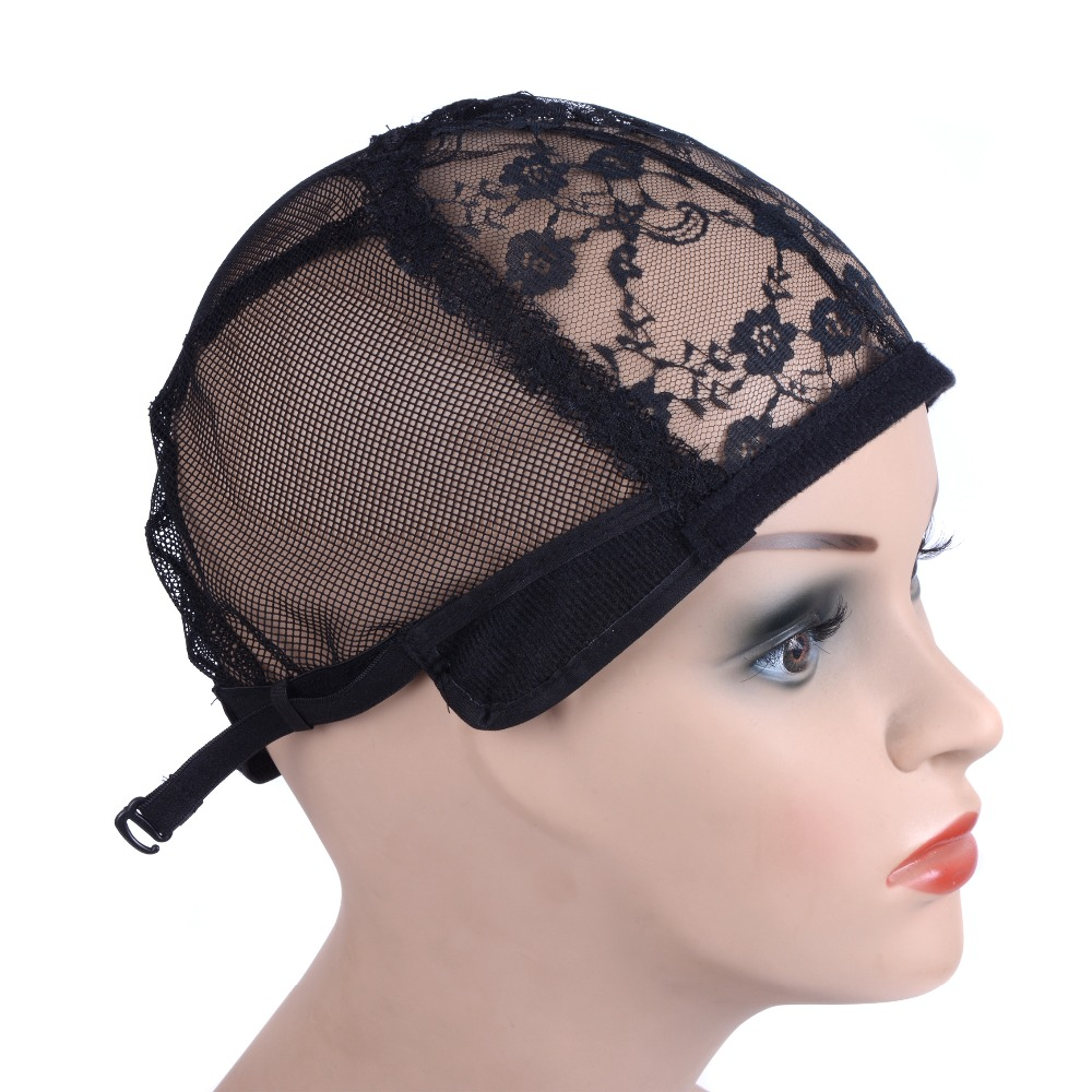 Factory hot sale wig cap stocking half mesh dome made in China