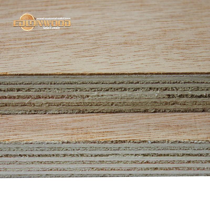 Edlon Phenolic glue okoume veneer marine plywood 9mm 12mm 15mm 18mm