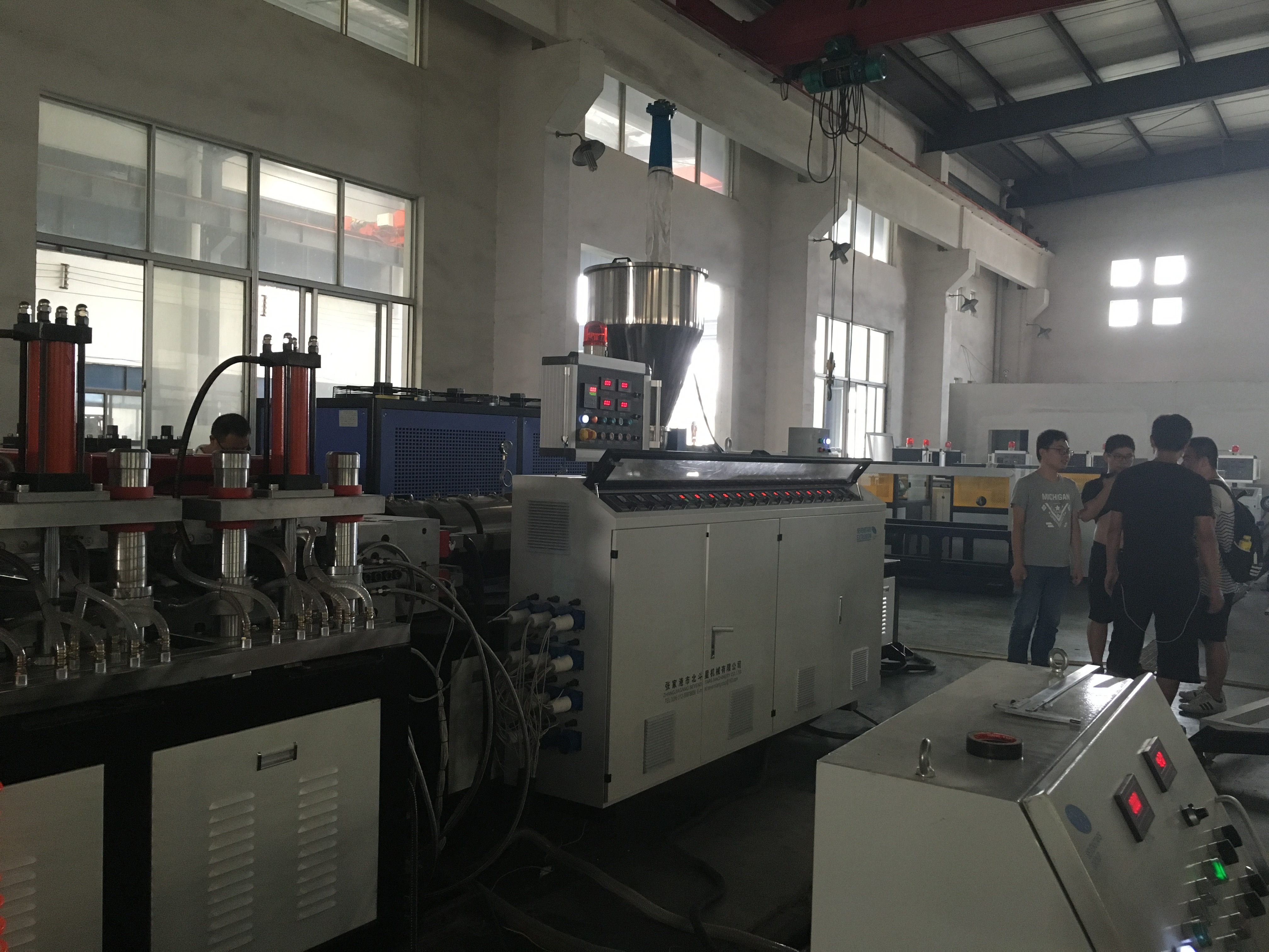 ABA type WPC pvc foam board manufacture machine  production line plant