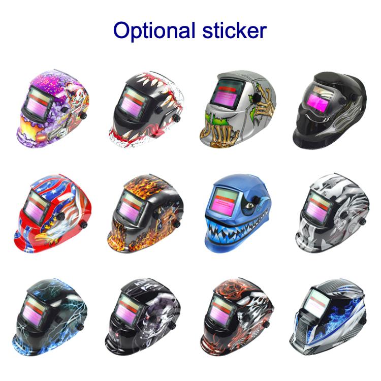 저렴한 4200w 초음파 deerskin 마스크 용접 4 센서 자동 어두워지는 헬멧 센서 헬멧 CE 인증